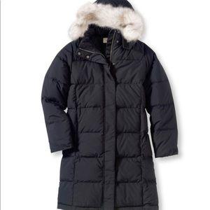 L.L. Bean Jackets & Coats - LLBean, ultra warm coat 3/4 length! Black